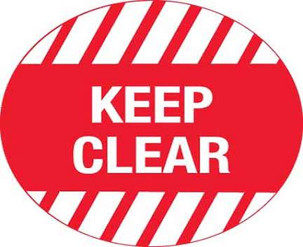 Floor-Graphic-Keep-Clear