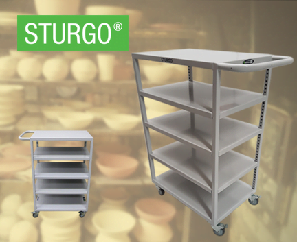 STURGO® Pottery Trolley