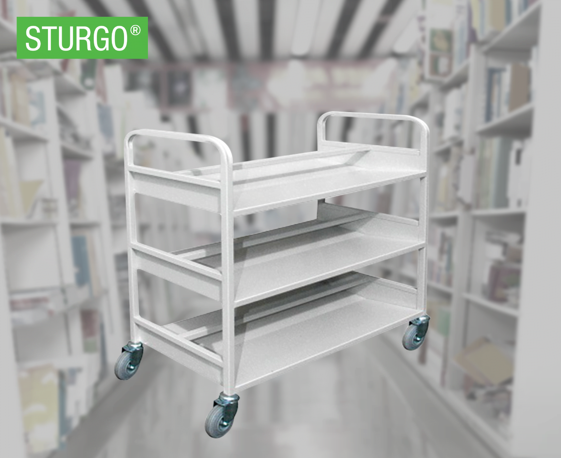 STURGO® Library Trolley