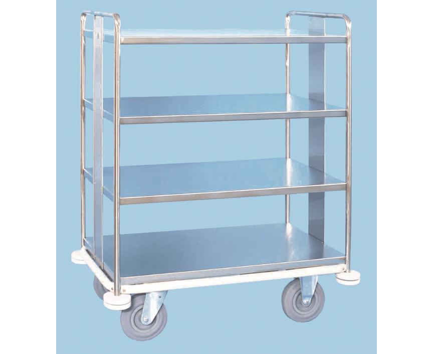 Stainless Steel Supply/Linen Trolley