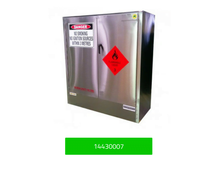 Stainless Steel Dangerous Goods Storage