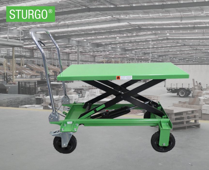 STURGO® All Terrain Scissor Lift Trolley
