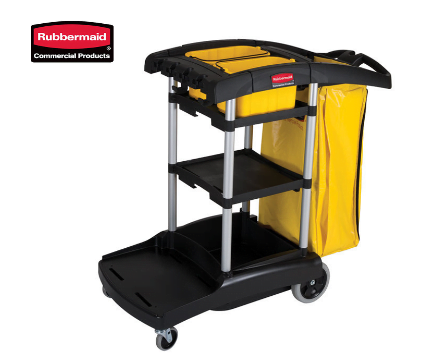 Rubbermaid Janitors Trolley