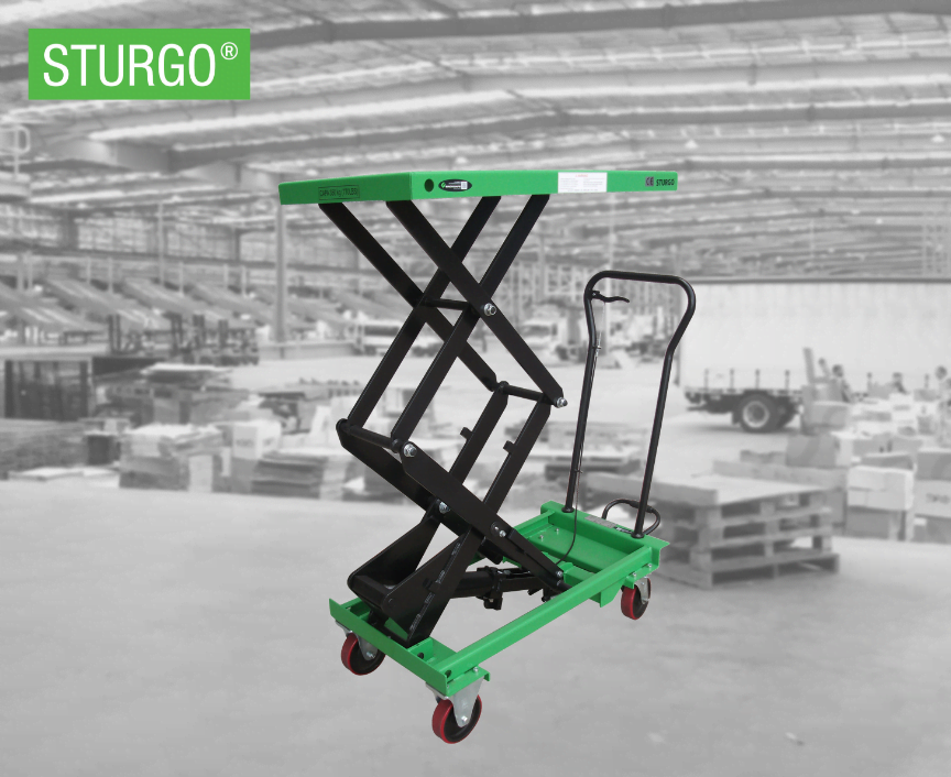 STURGO® Double Scissor Lift Trolley