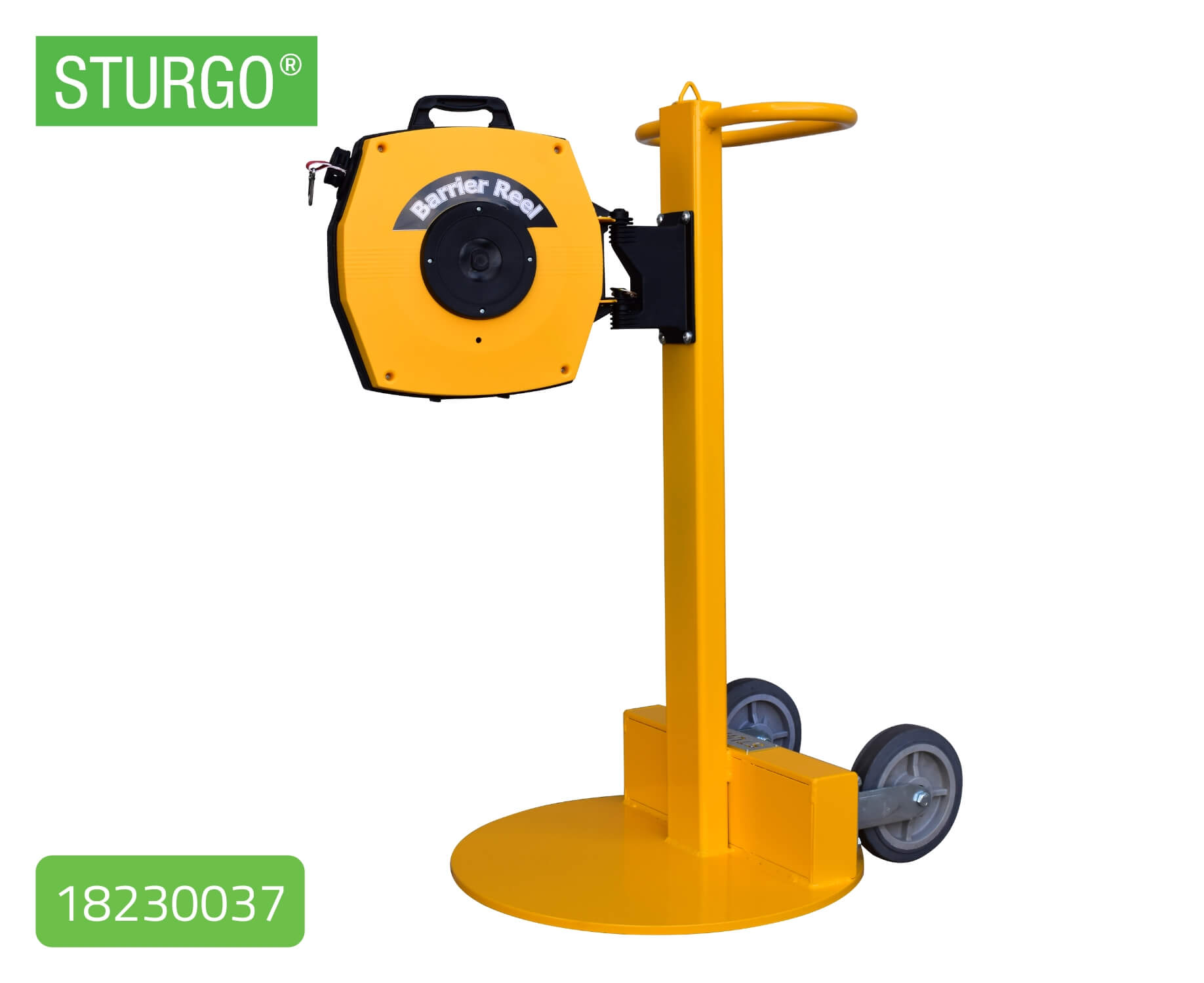 Custom STURGO® Mobile Stand for Retractable Tape Reels
