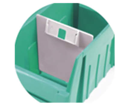 Plastic Dividers & ID Cards for Supra Bins