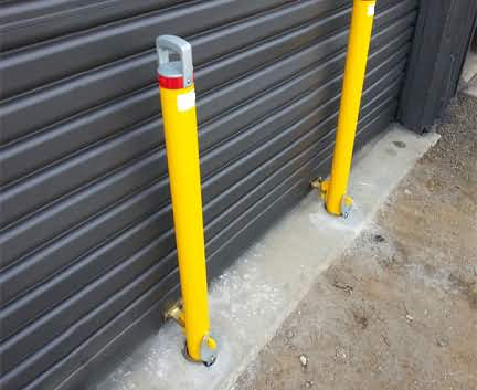 Removable In-Ground Bollards