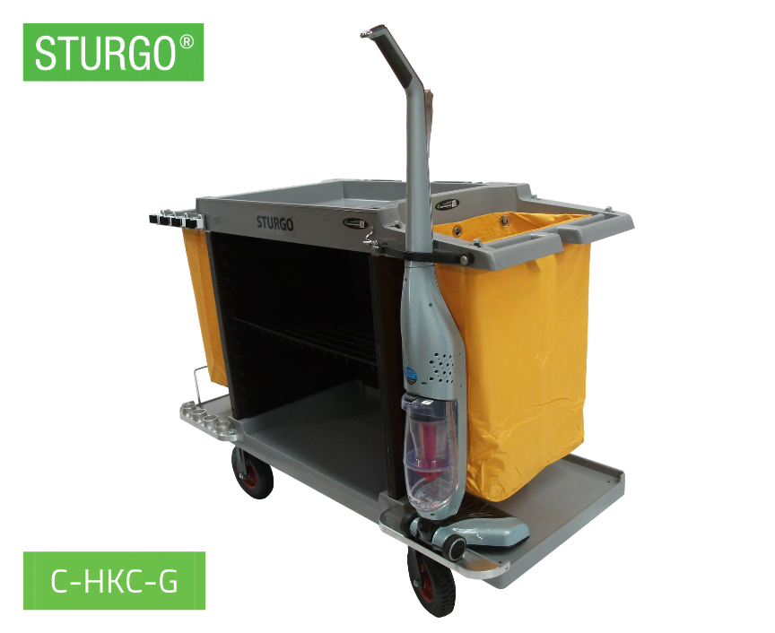 Custom STURGO® Economy Housekeeping Trolley
