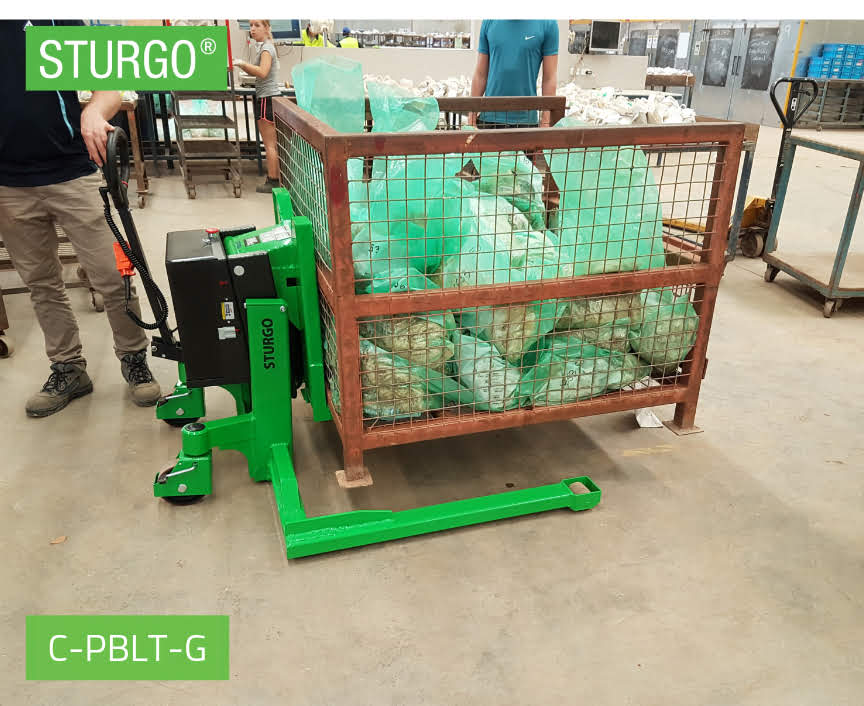 Custom STURGO® Electric Pallet Bin Lifter
