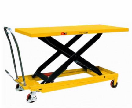 Scissor Lift Trolley - Large Top