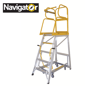 Navigator Mobile Warehouse Ladder