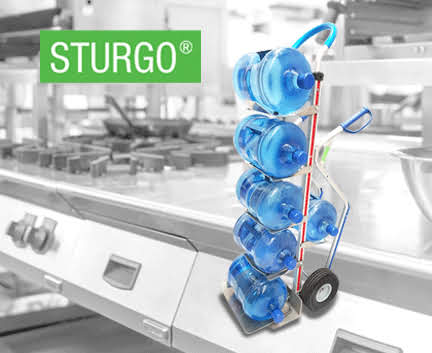 STURGO® 6 Water Bottle Hand Trolley / Truck