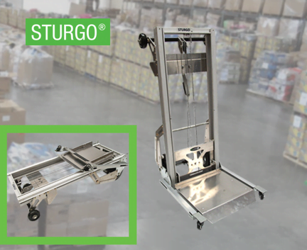 STURGO® Mini Aluminium Hand Stacker