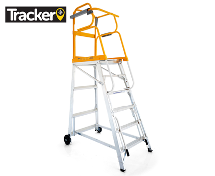 Tracker Mobile Platform Ladder