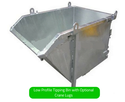 Tipping Bins - Low Profile