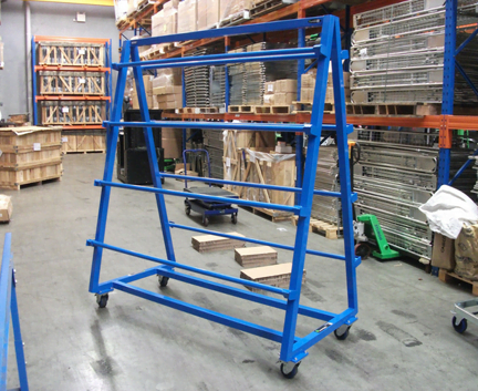 Custom WERKS® A-Frame Panel Trolley