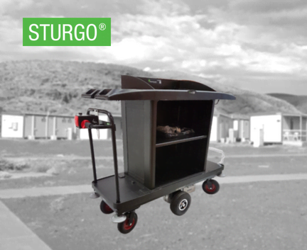STURGO® Electric Cleaners Trolleys
