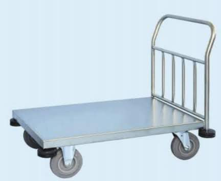 Low Loading Stainless Steel Trolley