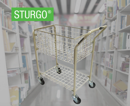 STURGO® Office File Trolley