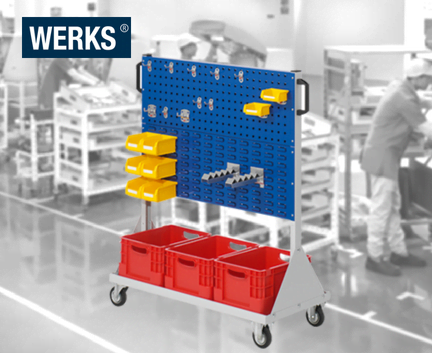 WERKS® Size 2 Component Trolleys