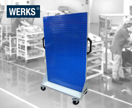 WERKS® Size 4 Storage Panel Trolleys