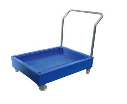 Poly Bunded Drum Trolley