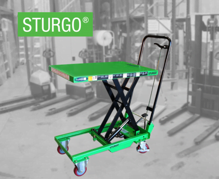 STURGO® Scissor Lift Trolley