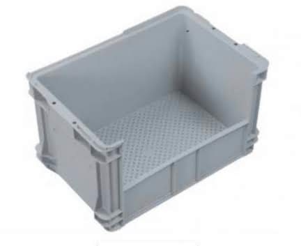 Plastic Crate with Side Access