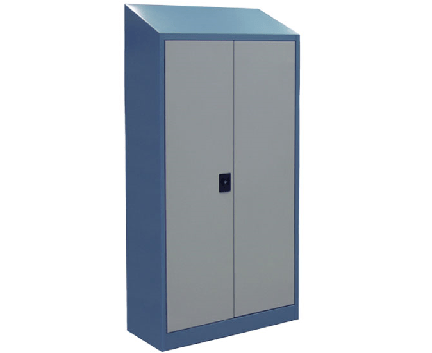 Slope Top Industrial Cabinets