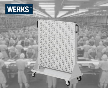 WERKS® Size 3 Storage Panel Trolleys