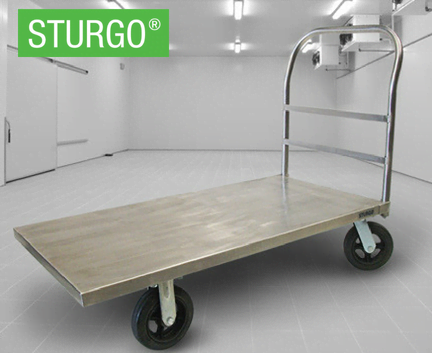 STURGO® Stainless Steel Platform Trolley