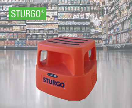 STURGO® Step Stool with Handles