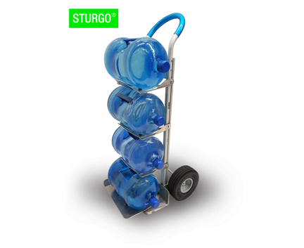 STURGO® 4 Water Bottle Hand Trolley / Truck