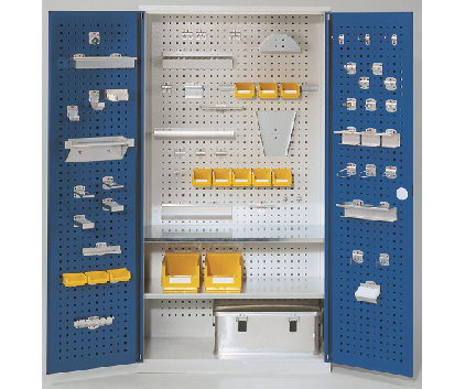 WERKS® Tool Cabinets - Perforated Panel Doors