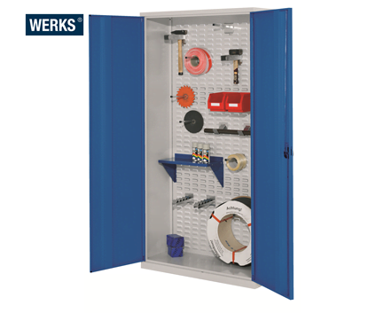 *These cabinets do not come fitted with shelves.  sc 1 st  Backsafe Australia & Buy A WERKS® Tool Cabinets - Solid Steel Doors - Materials Handling ...