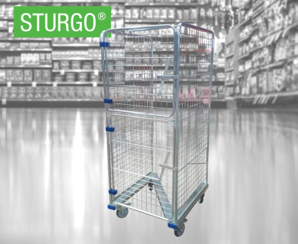 STURGO® Z Base Roll Cage Trolley