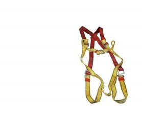 Full Body Safety Harness And Lanyard
