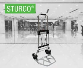 STURGO® Foldable Aluminium Hand Trolleys
