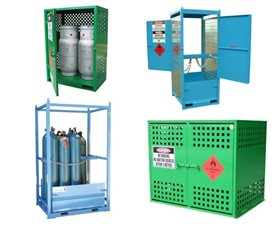 Heavy Duty Gas Cylinder Storage Cabinets