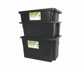 Stack & Nest Containers - Recycled Plastic