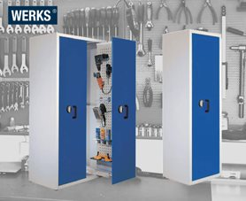 WERKS® Vertical Drawer Tool Cabinets