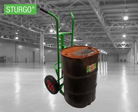 STURGO® Heavy Duty Drum Hand Trolley