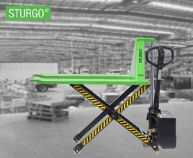 STURGO® Electric High Lift Pallet Jack