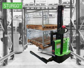 STURGO® Compact Electric Straddle Stacker