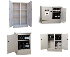 Poly Corrosive Storage Cabinets