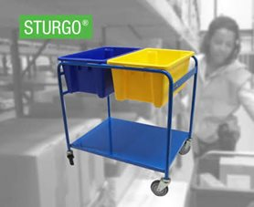 STURGO® Double Order Picking Trolley