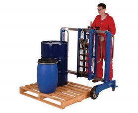 Side Shift Drum De-Palletiser