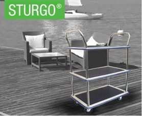 STURGO® Triple Platform Trolley