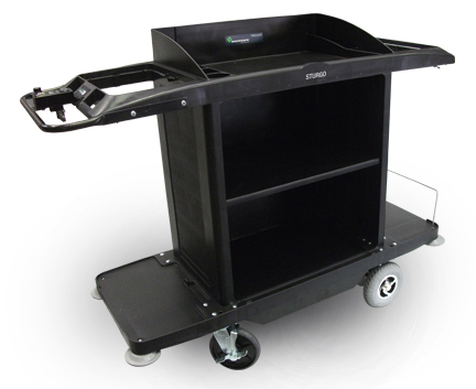 sturgo electric cleaners cart