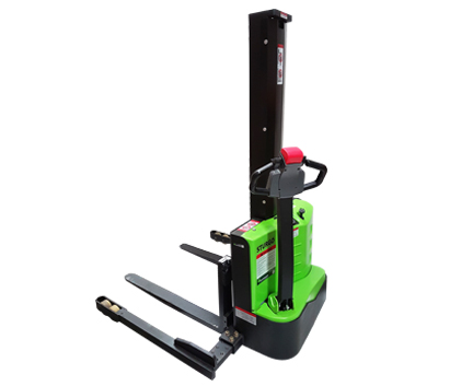 sturgo lift compact electric straddle stacker